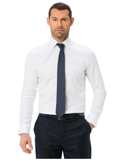 LC Waikiki Uzun Kollu Gömlek Beyaz